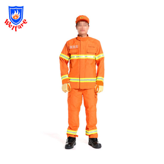 Protective Safety Suit for Fireman