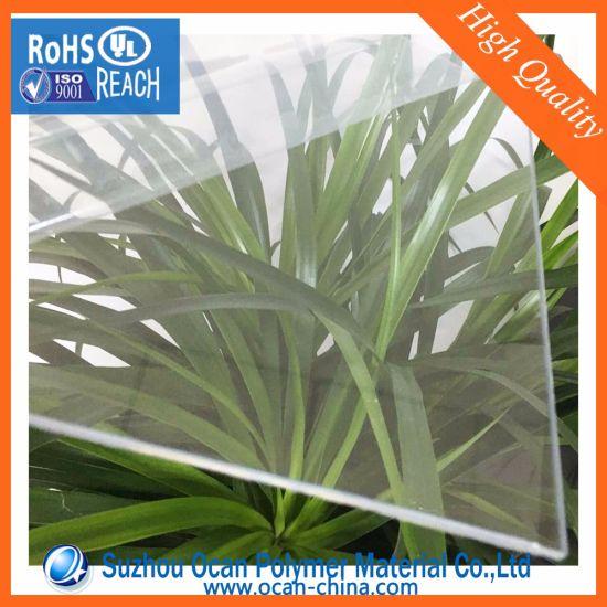 PVC Sheet 3mm Thickness, 4*8 Transparent Hard Plastic Rigid PVC Sheet for Cold Bending