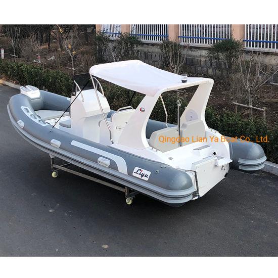 Liya Rigid Hull Inflatable Boat 5.2m Fiberglass Rib Boat