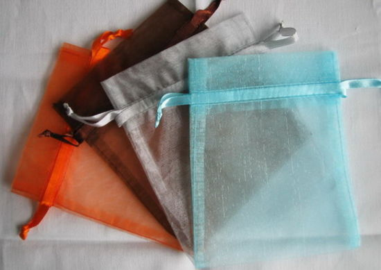 Customizedorganza Pouches with Differernt Size/Color