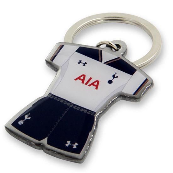 Wholesale High Quality Cheaper Promotional Football Souvenir Key Chains (XD-0207)