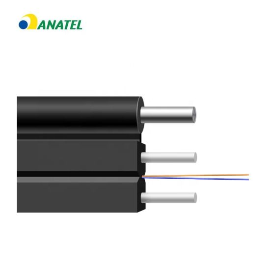 Outdoor Drop Cable 8 Core Multimode Fiber Optic Cableble