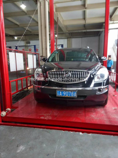 China Hydraulic Garage Used Four Post Car Lift for Sale