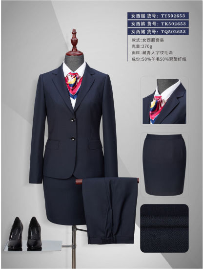 6b5cab08a72 China Quality Comfortable Women′s Classic Fit Business Suits - China ...