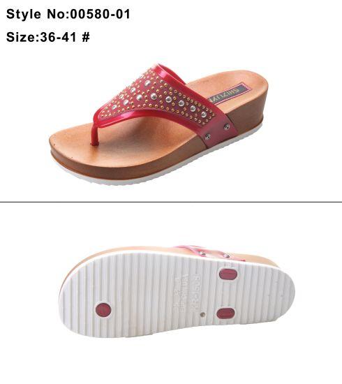 China Wide Flip Flop Strip Strap Women