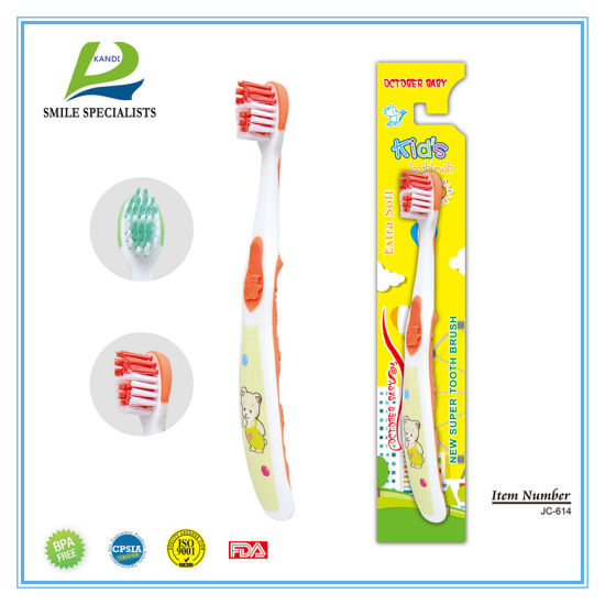 Cartoon Children/Kids PP Nylon Toothbrush with Cartoon Printing pictures & photos
