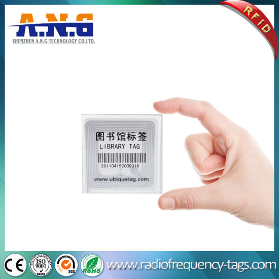Printable RFID Smart Hf Library Label for Books Management