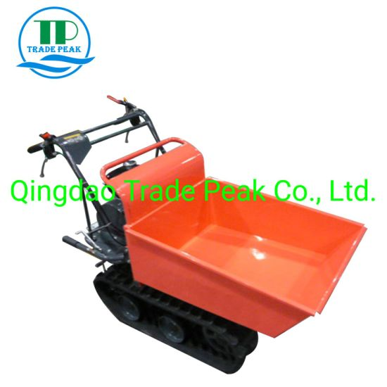 All Terrain Ce Quality Mini Dumper for Mining (QTP300C)