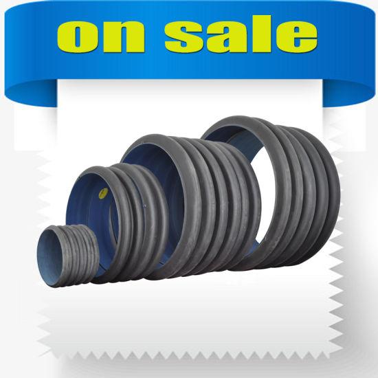 Large Plastic HDPE Double Wall Corrugated Drainage Pipe PE Tube