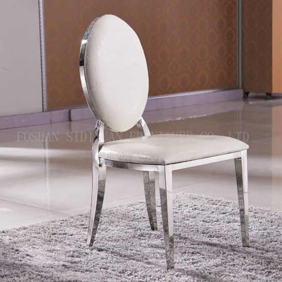 China Whole Stainless Steel Restaurant Furniture White