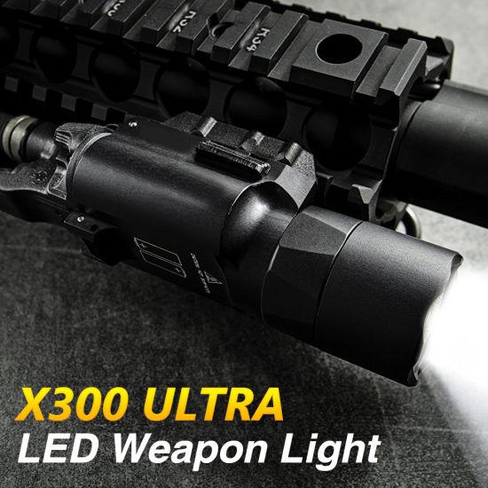 X300 Ultra Pistol Light Output LED Weapon Light X300U-A Tactical Flashlight