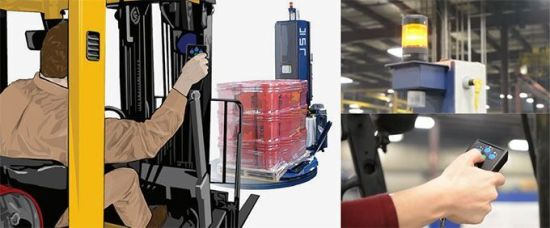 Newest Advanced Pallet Wrapping Machine (MP-DX) pictures & photos