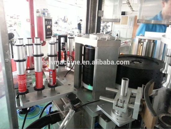 Automatic Linear OPP Hot Melt Glue Bottle Labeling Packaging Machine pictures & photos