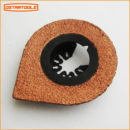 70mm Carbide Abrasive Rasp Used for Oscillating Power Tool pictures & photos