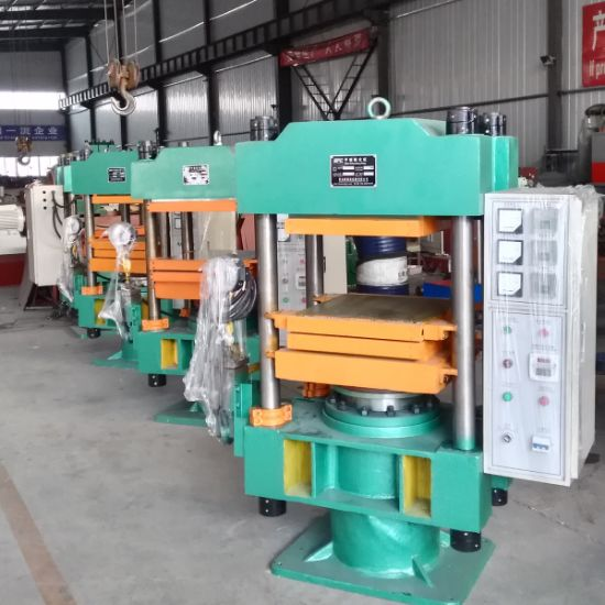 Rubber Molding Press, Hydraulic Plate Vulcanizing Press Machine