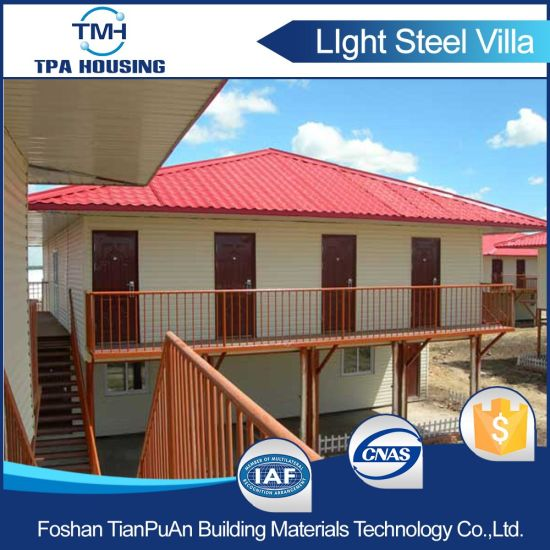 Best Selling Modular Prefab House with 2 Bedrooms pictures & photos