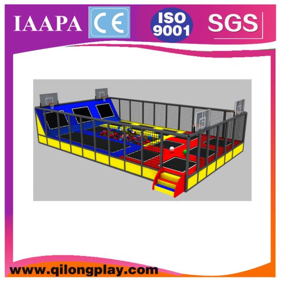 Indoor Kids Professional Large Jump Trampoline with Foam Pit