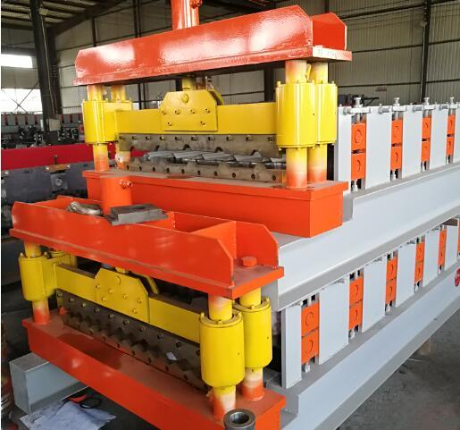 Roll Forming Line Building Material Roof Tile Machine Low Price