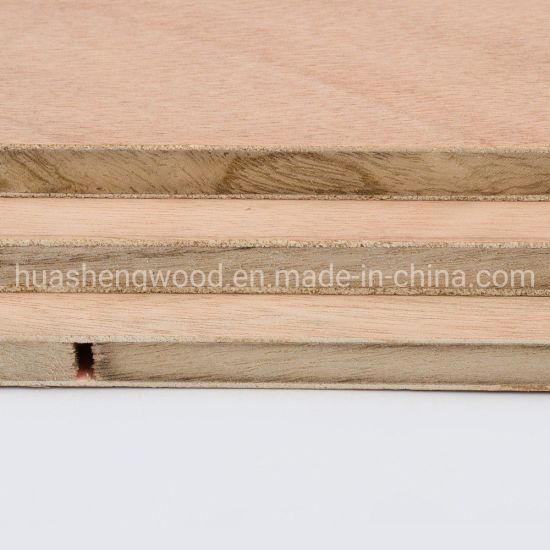 Okoume Veneer Block Board From China pictures & photos