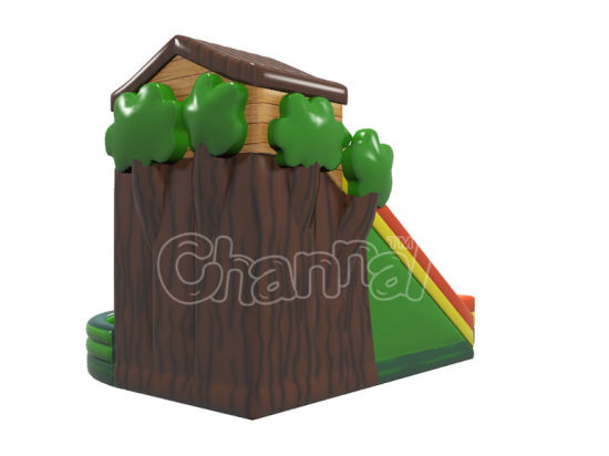 Happy Jungle Inflatable Children Bouncer Slide for Games pictures & photos