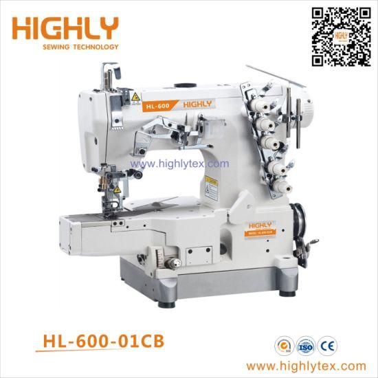 China Pegasus Type High Speed Cylinder Bed Interlock Stretch Sewing Machine China Underwear Stretch Sewing Machine Rolled Edge Sewing Machine