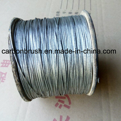 supplying the high quality tinned weaving Copper wire used for carbon brush pictures & photos
