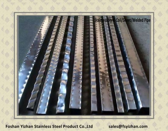 Stainless Steel Welded Special Shaped Pipe pictures & photos