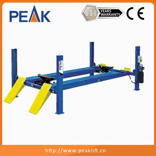 China Commercial Grade Alignment 4 Piller Car Lift - China