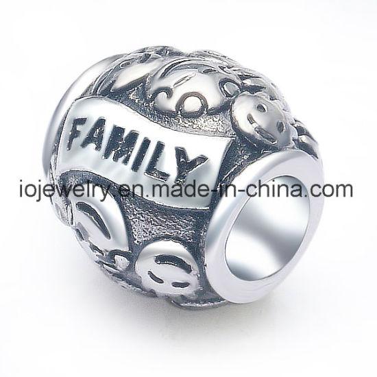 Latest Design Custom Engraved Family Jewelry Bead