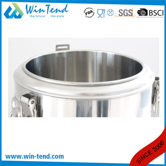 Hot Sale Stainless Steel Economic Type 3 Buckle Portable Insulated Foaming Food Container for Transport pictures & photos