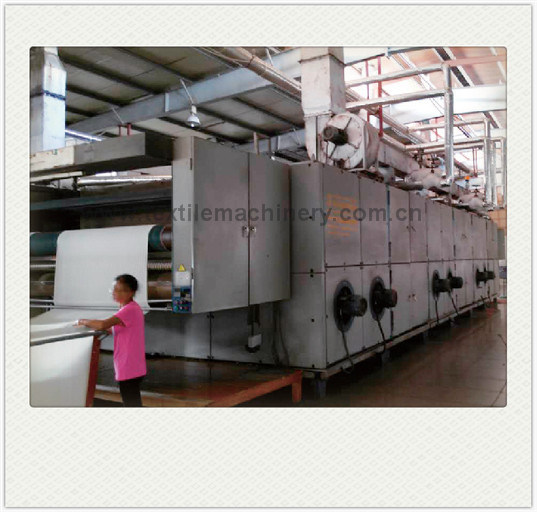 Textile Relax Dryer Machine with Tentionless and Overfeed Function