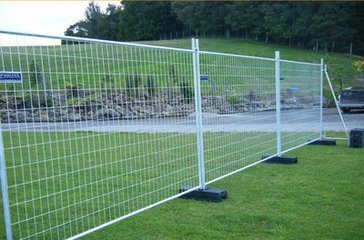 Portable Temp Welded Wire Mesh Galvanized Mobile Fencing pictures & photos