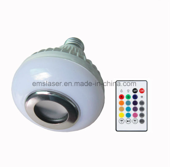 LED Bluetooth Bulb Speaker RGB E27 Wireless Music Player with Remote Control pictures & photos
