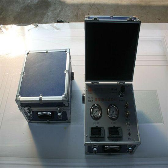 Yy-4 Portable Hydraulic Pump Oil Flow/Pressure Gauge
