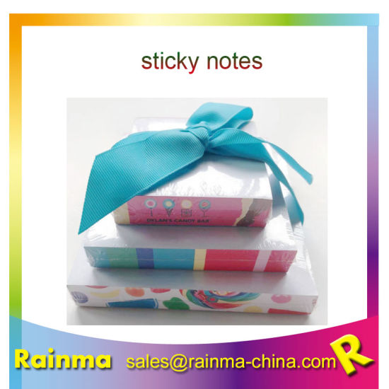 Sticky Notes with Pen Set