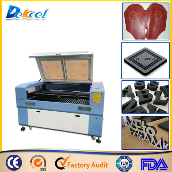 80W 9060 CNC CO2 Laser Cutter for Leather Foam MDF pictures & photos
