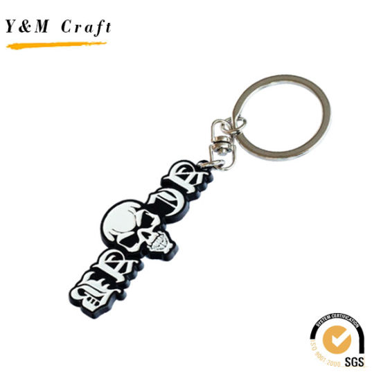 Promotional Gift Custom Metal Letter Key Ring with Color Filled (Y03841) pictures & photos
