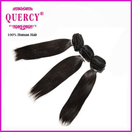 Black Girl Hair Extensions 16 Inches Straight Indian Remy Hair Extensions pictures & photos