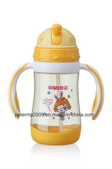 380ml Cartoon Water Bottle Plastic for Kids (hn-6401) pictures & photos