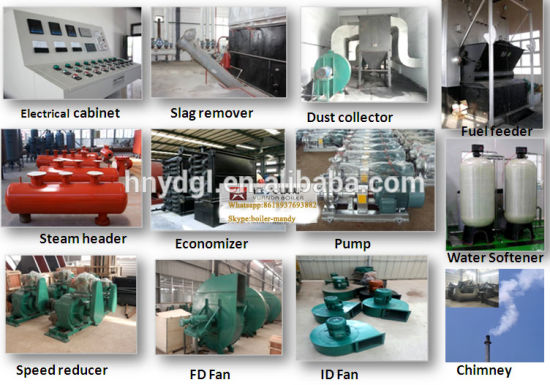 Yuanda Brand Trade Assurance Security Biomass Pellet Fired Steam Boiler pictures & photos