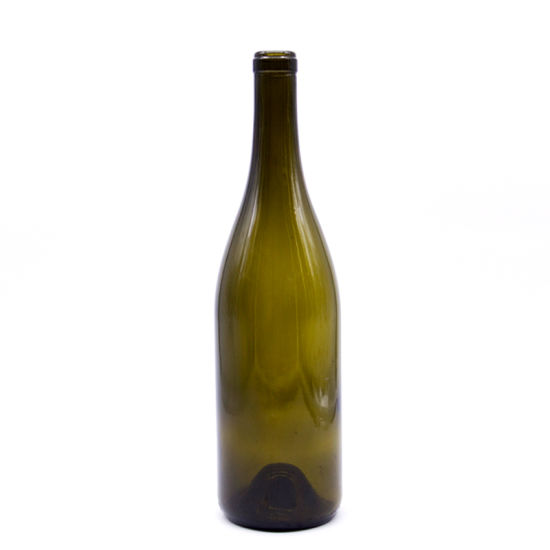 Hot Sell 750ml Dark Green Glass Wine Bottles pictures & photos