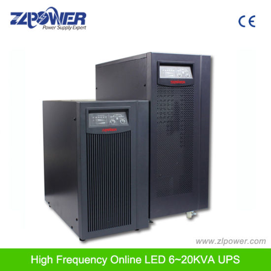 High Frequency Double Conversion 20kVA 3phase Input and 1 Phase Output Online UPS pictures & photos