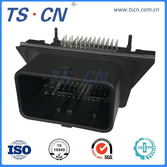 Molex Wire to Board Automotive ECU PCB Header Vertical Connector CMC Header 48 Vie - Pn 500762-0481 48p Automobile Connector