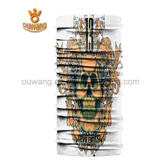 Cheap Promotional Custom Bandana Printing Sports Head Tube Scarf