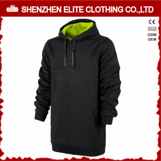 93cf4d880 Latest Design Extended Black Green Hoodies Pulllover (ELTHI-12) pictures &  photos