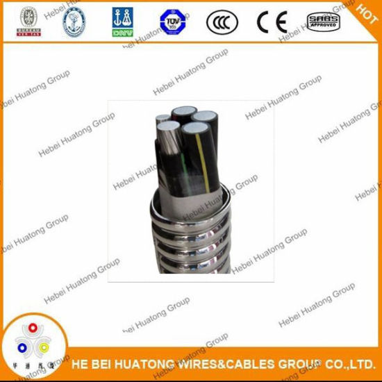 Pleasant China Ul1569 Mc Cable Aluminum Tape Interlocked Armour Cable China Wiring Digital Resources Hutpapmognl
