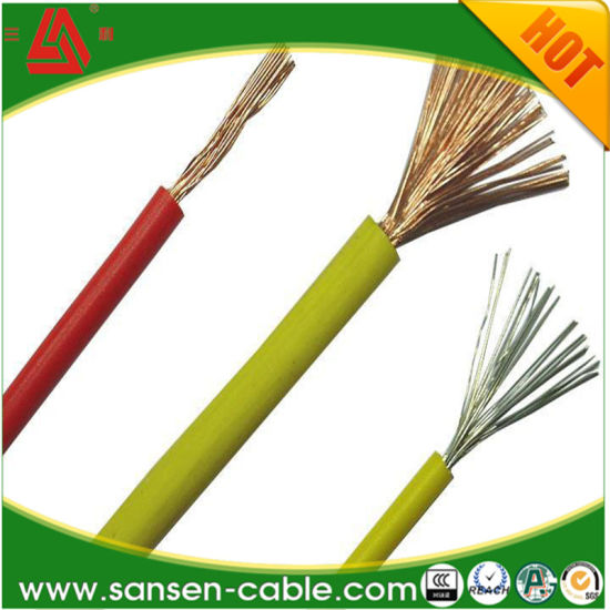 H07V-K, Electric Wire, House Wiring, 450/750 V, Class 5 Cu PVC Cable pictures & photos