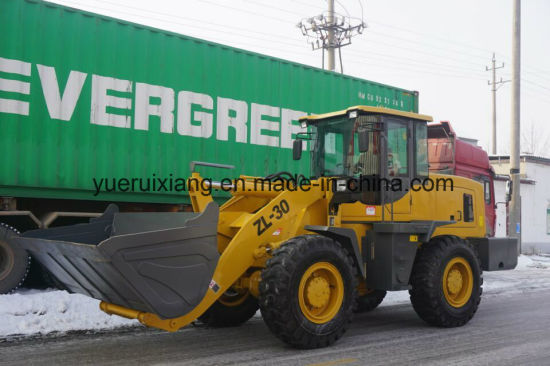 2018 New Ce 3tons Wheel Loader Zl30 for Sale pictures & photos