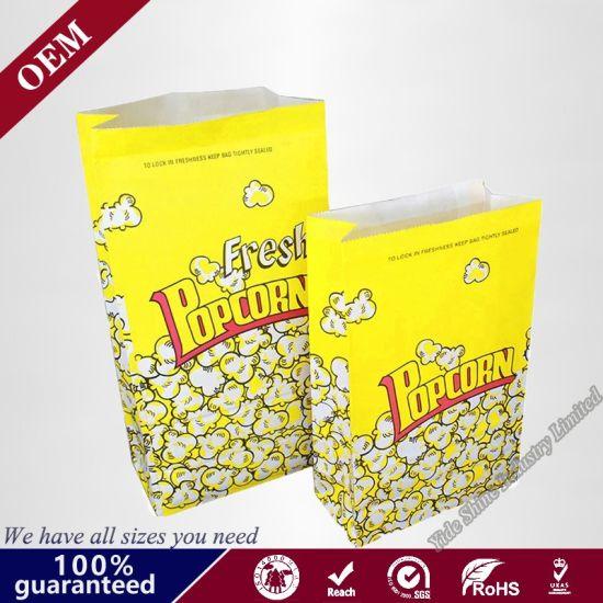 Paper Microwave Popcorn Bags