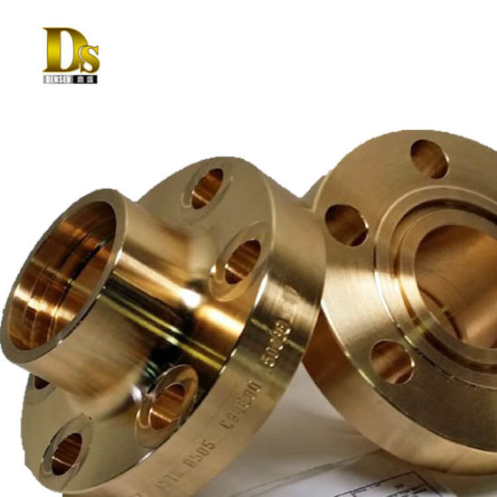 China Densen Customized Copper Brass Forging Flange, Forged